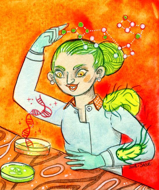 Simonae – Article sur le métier de Biologiste