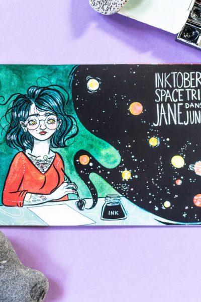 Artbook «épopée spatiale» Inktober 2018
