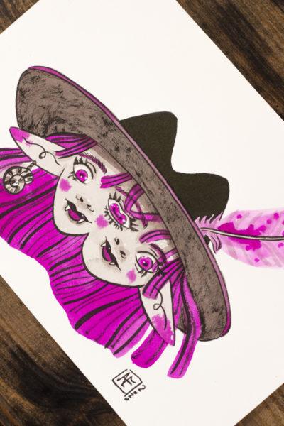 Chapeau XXL Vamp'ink original A5