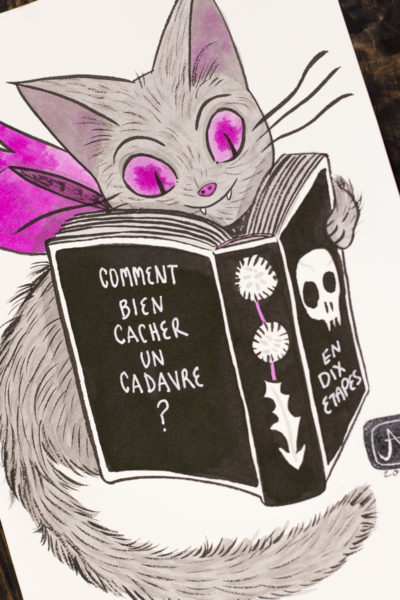 L'heure du livre Vamp'ink original A5