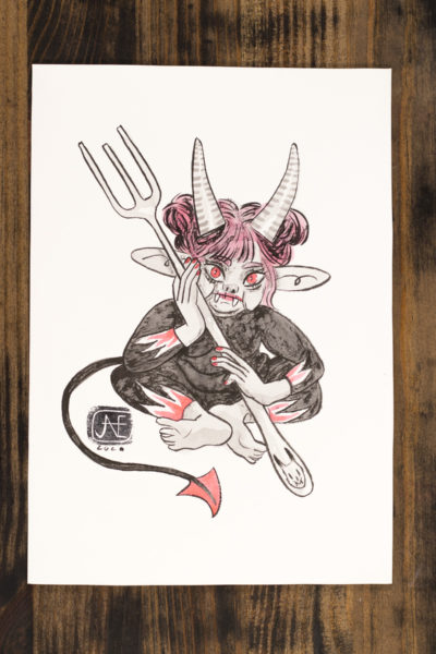 Diablesse Vamp'ink original A5