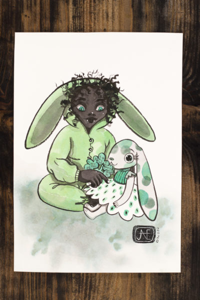 Pyjama Vamp'ink original A5