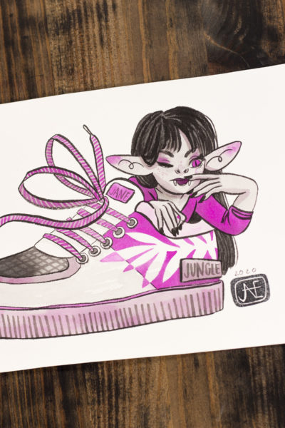 Basket Vamp'ink original A5