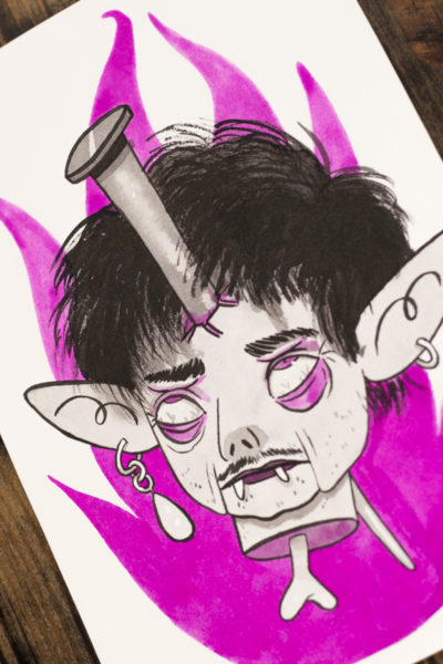 La Mort Ultime Vamp'ink original A5