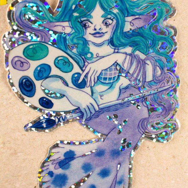 Sticker Mermay Palette